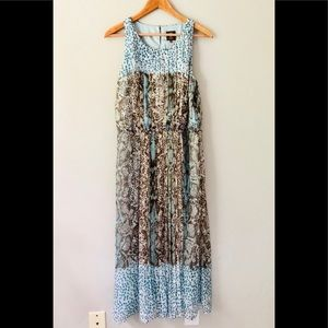 Vince Camuto Patterned Maxi Dress